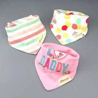 Baby bibs (3 pcs)