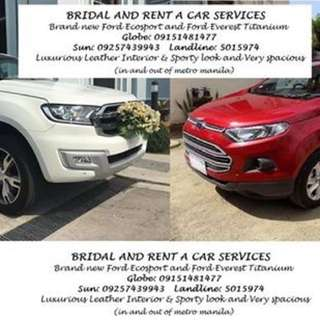 Bridal Car and Cars For Rent