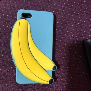 iPhone 5 5S SE  5C Silicone Banana case