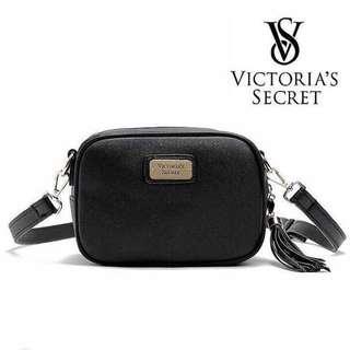 Victoria's secret with tassle sling bag