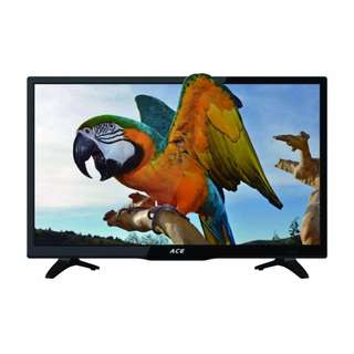 "Ace 19"" Super Slim Full HD LED TV Black LED-505 Free Delivery in all NCR Area Cash On Delivery Nationwide"