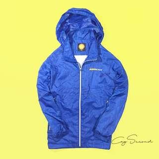 Shell windbreaker jacket
