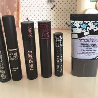 Mascaras and more