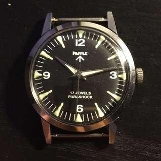 HMT 古董軍錶*HMT vintage military watch*not Rolex Tudor Omega