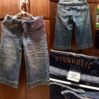 Hydraulic Square Jeans