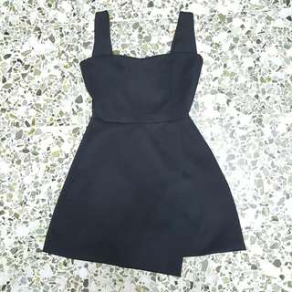 🎈PULL & BEAR Bare Back Black Dress