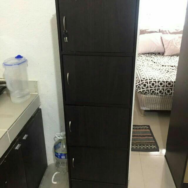 5-Door Wooden Cabinet