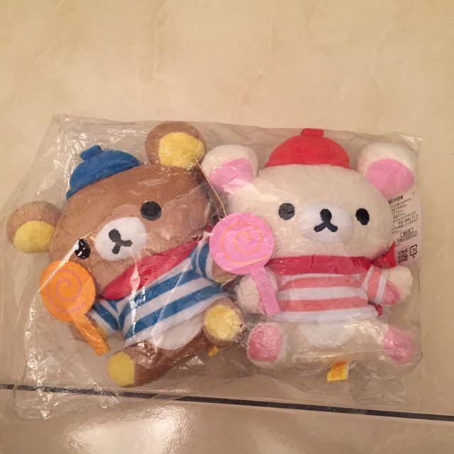 拉拉熊玩偶