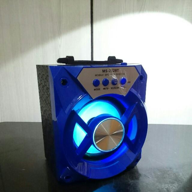 藍芽小音箱