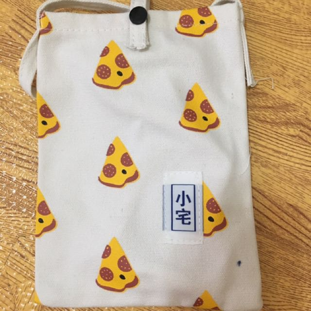 披薩小側背包