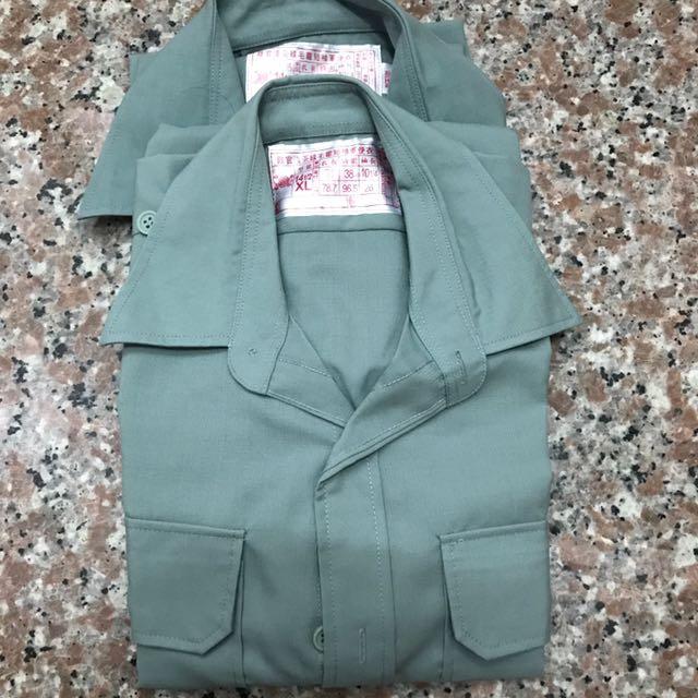 男用陸軍軍便服短袖上衣