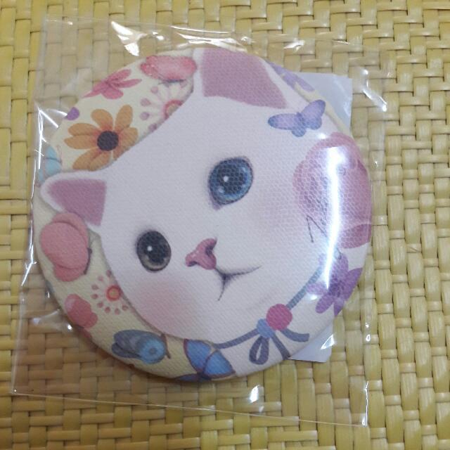韓國甜蜜貓隨身鏡