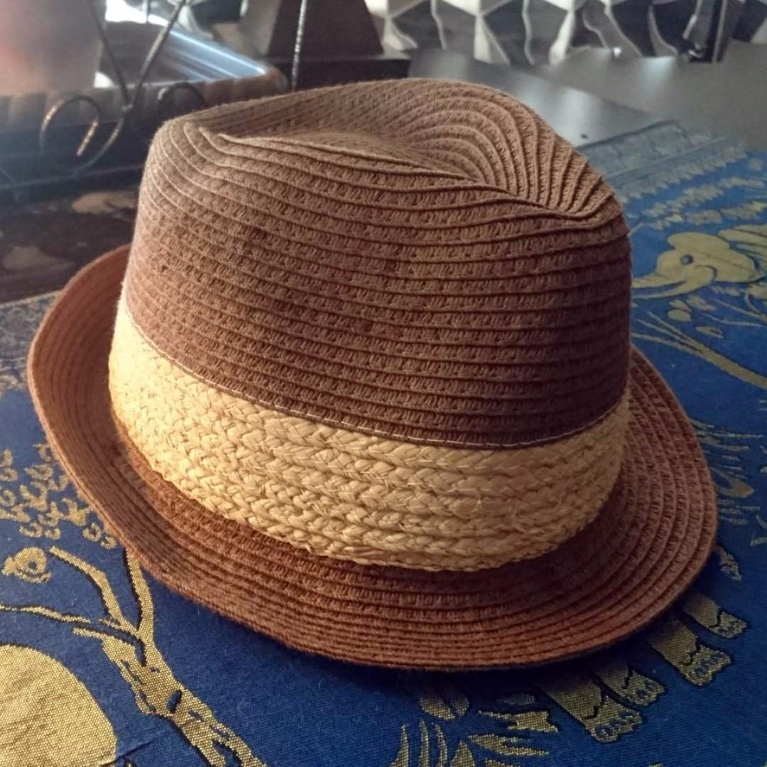 手工 藤編帽 草帽 紳士帽 全新 帽子 百搭 全新 台灣製 中性款
