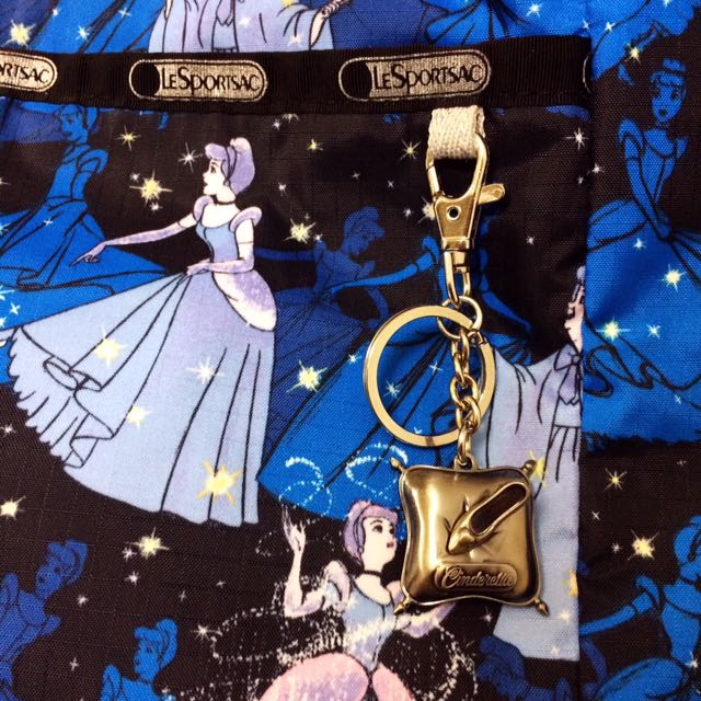 全省已斷貨 絕版品 LeSportsac  Cinderella 迪士尼~仙度瑞拉 大托特包