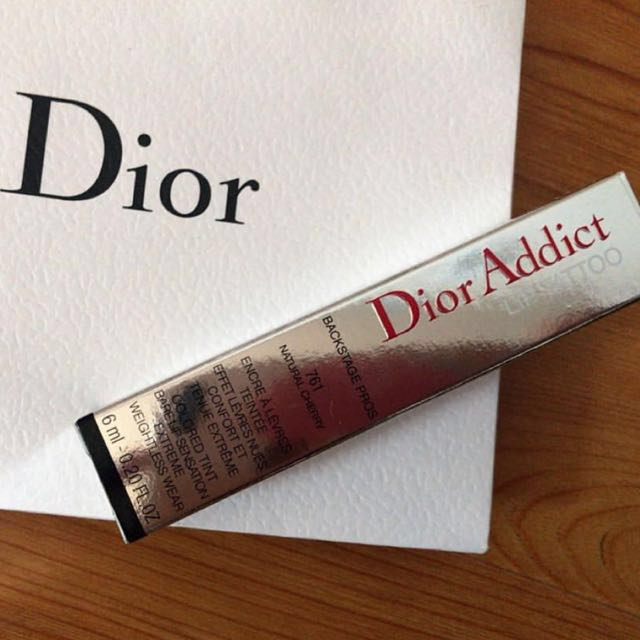 💯 Authentic Dior Addict Lip Tattoo Long Wear Colored Tint
