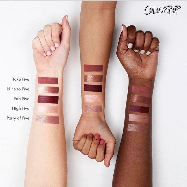 現貨 Colourpop Take Five Ultra Matte Lip Takefive