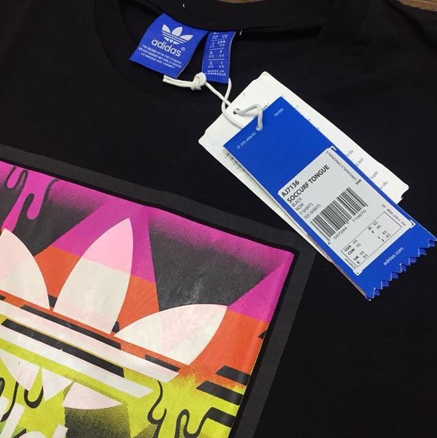 Adidas T-shirt Soccurf Tongue