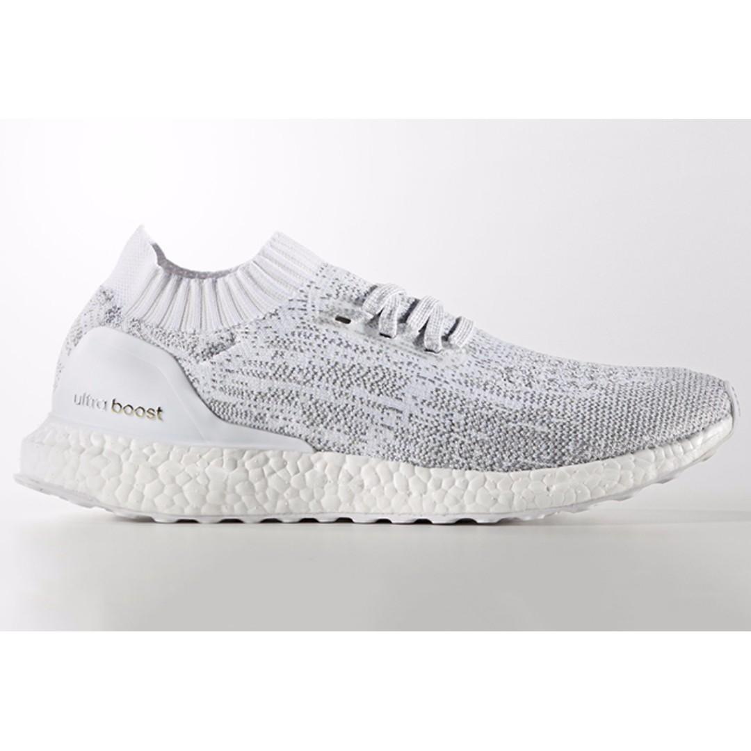 Adidas Ultra Boost Uncaged White Grey UK9