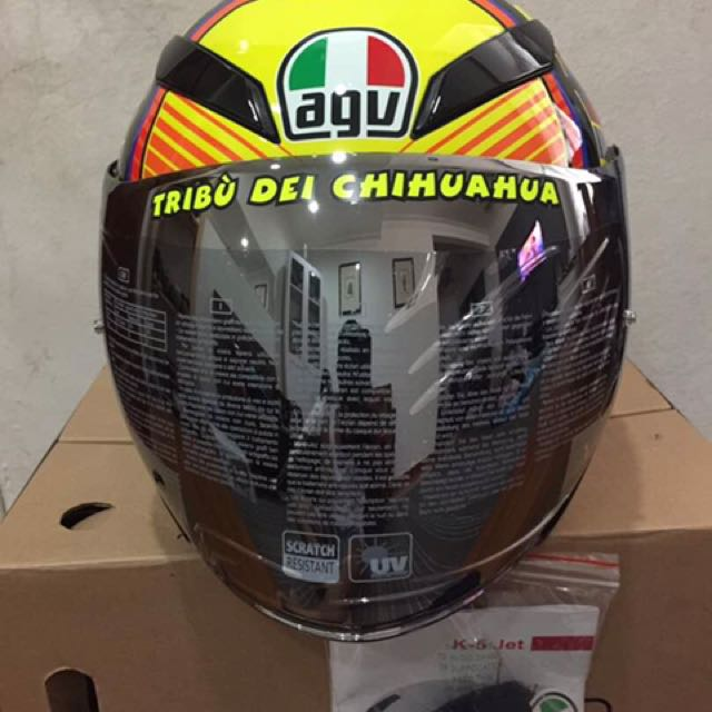 Helmets Headwear Agv K5 Jet Clear Visor Vehicle Parts Accessories Visitestartit Com