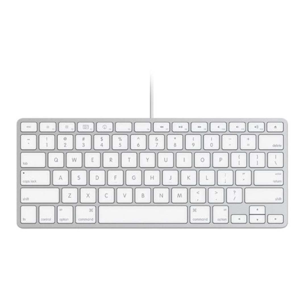 Apple Keyboard Wired 10000256, Electronics, Computer Parts ...