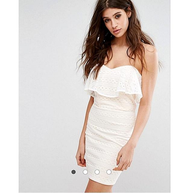 ASOS Laced Sleeveless Dress