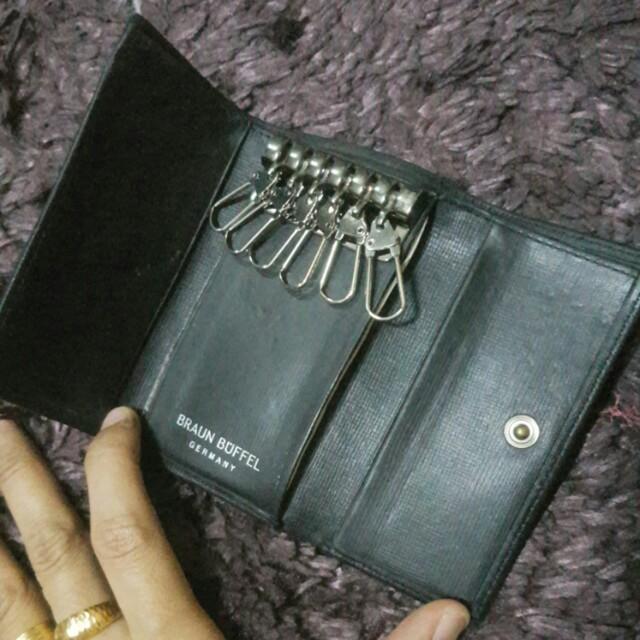 Authentic Braun Buffel Key Holder