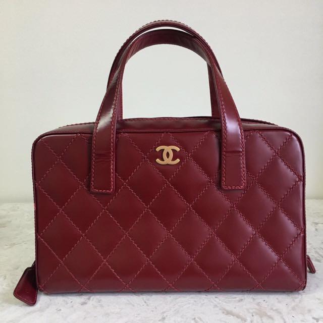Authentic Chanel Bucket Handbag