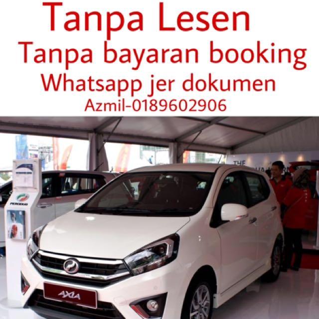 Harga Perodua Axia Bulanan - sakk-kal