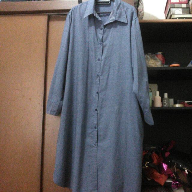 BIGSIZE DRESS (BRAND XTOX)