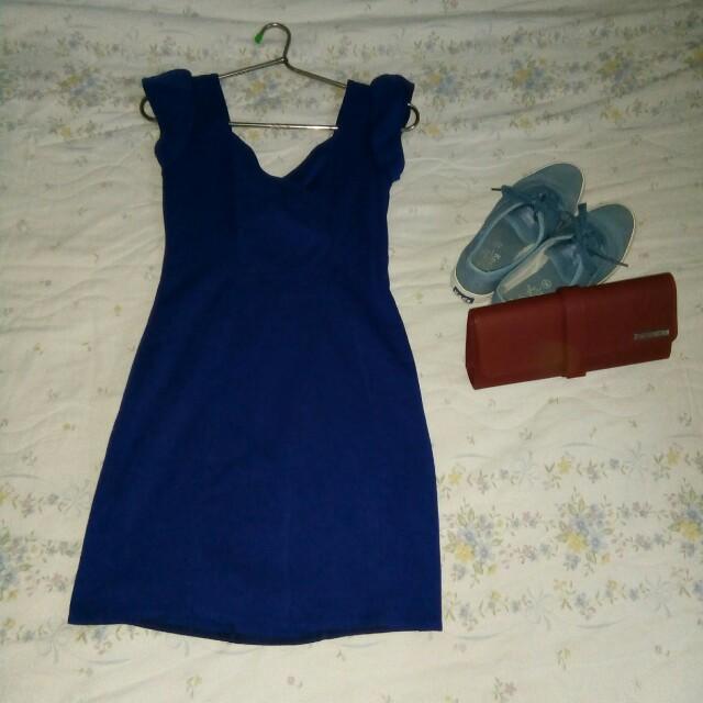 Bkue dress