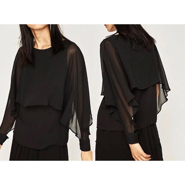 Black Layer Top