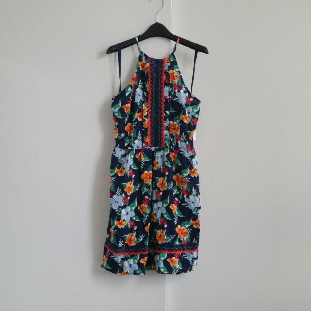 BNWT Floral Halter Dress from Garage