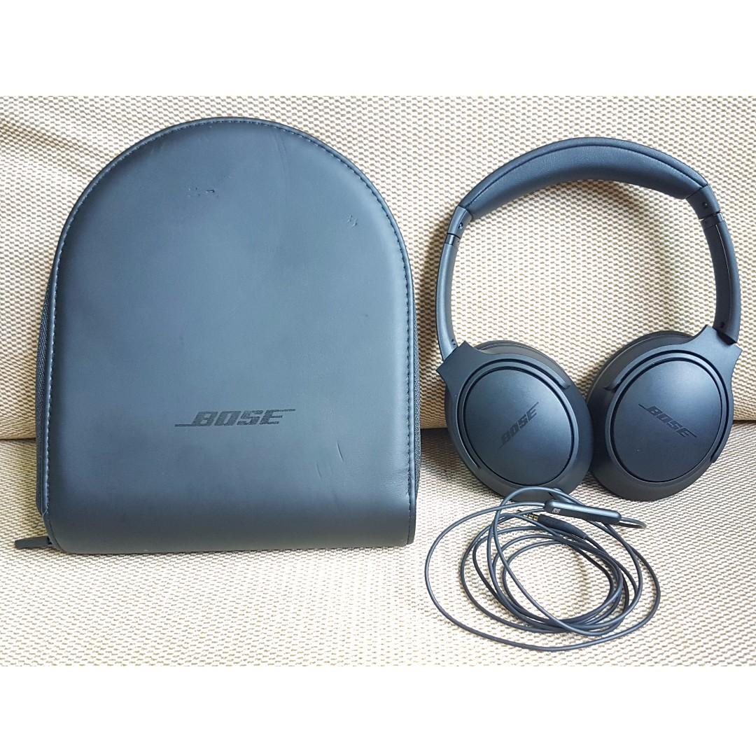 977800e8725 BOSE Soundlink Around Ear II Wired Headphone, Electronics, Audio on  Carousell