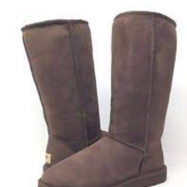 Brown talk uggs