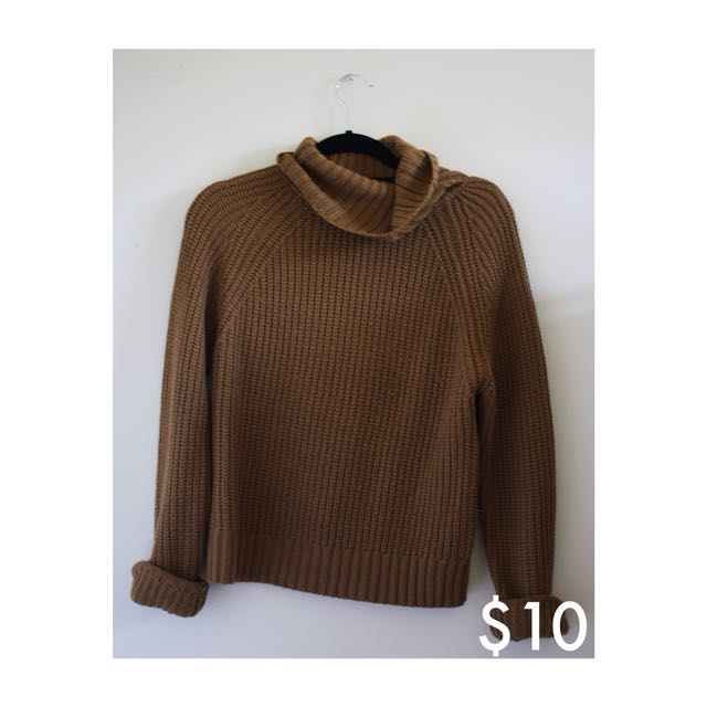 Camel Turtleneck