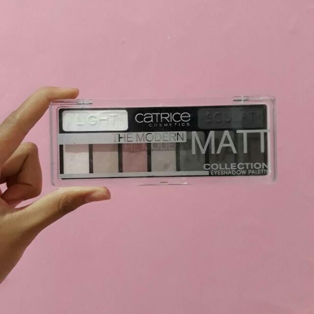 Catrice Eyeshadow Palette The Modern Matte