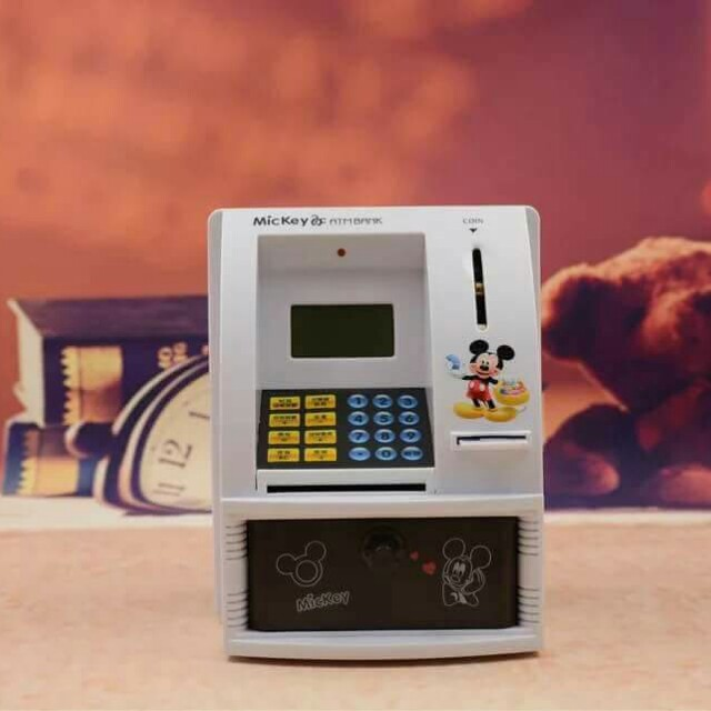 Character ATM Machine Bank
