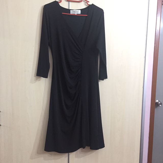 [charity] Crescendo Wrap Dress M