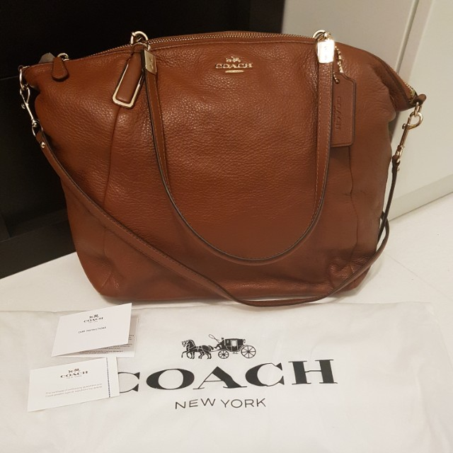 Coach Sling bag (Brown) *Authentic*