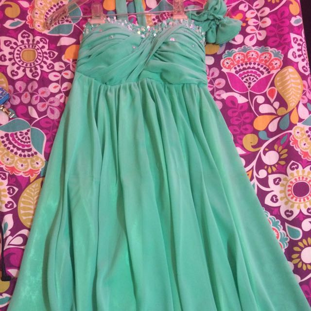 Cocktail dress (mint green)