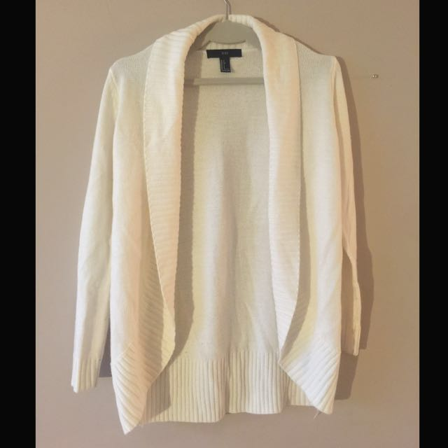 Cream White Cardigan