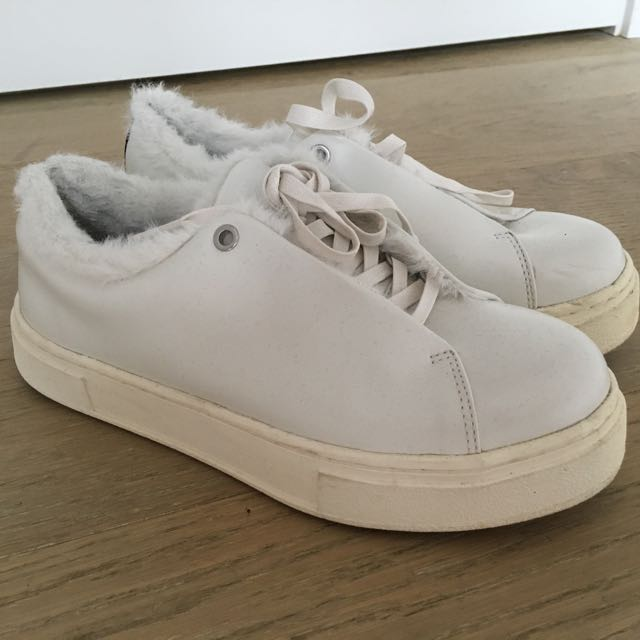 EYTYS Fur Platform Sneaker