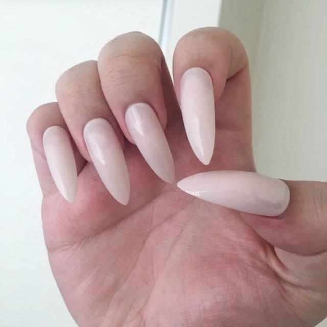 False Stiletto Nails