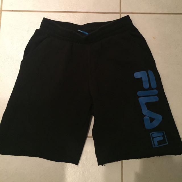 Fila ripped shorts