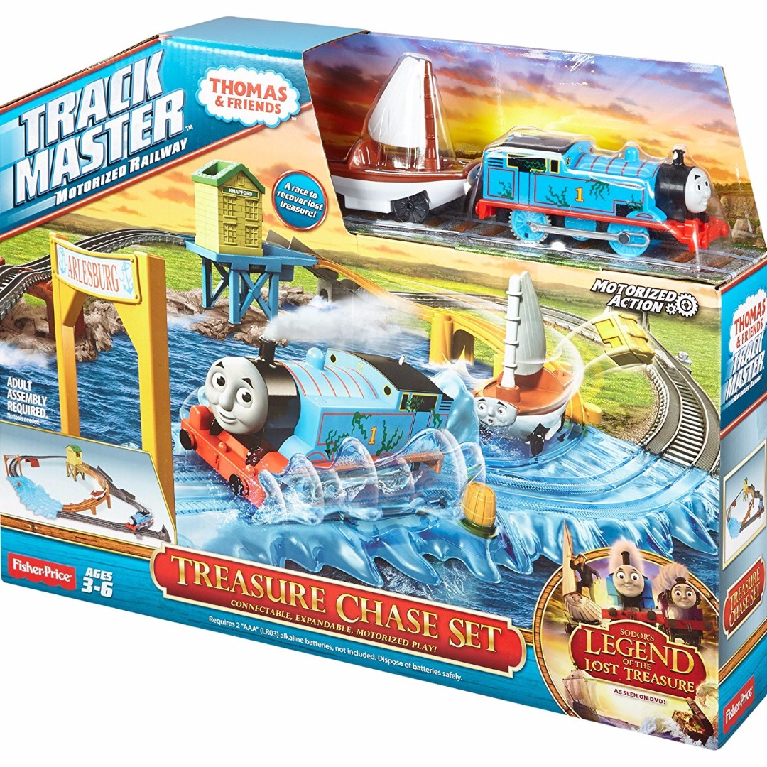 Fisher Price Thomas Amp Friends Trackmaster Treasure Chase