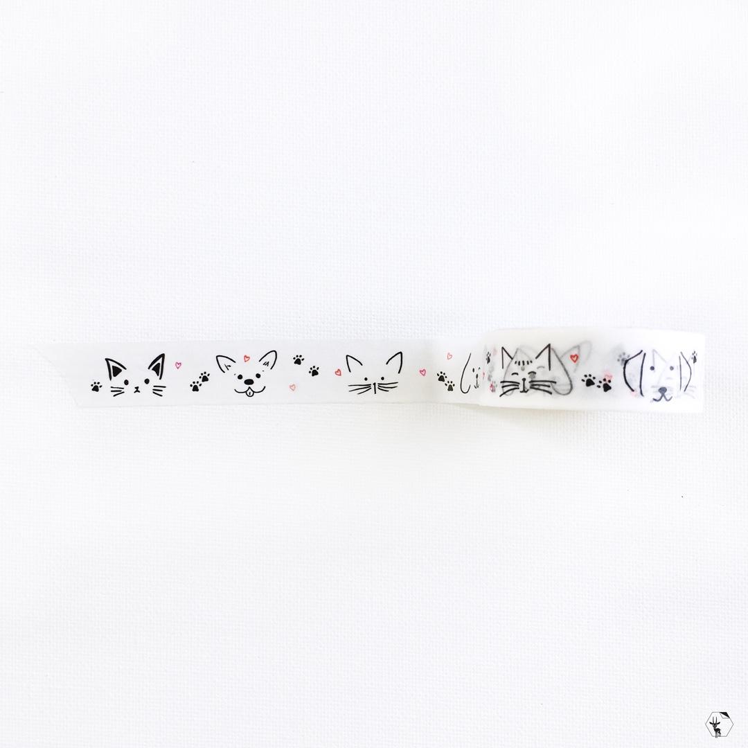 Furry Friends Washi Tape