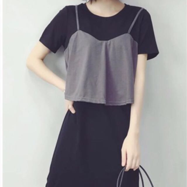 Grey Set Dress