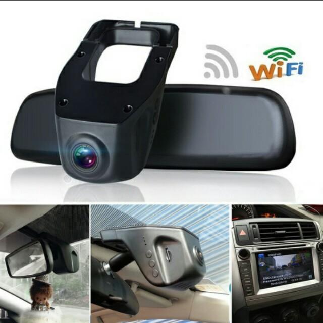 pre order 1080p wifi 170 front lens 140 rear lens hidden car dash camera video recorder g. Black Bedroom Furniture Sets. Home Design Ideas
