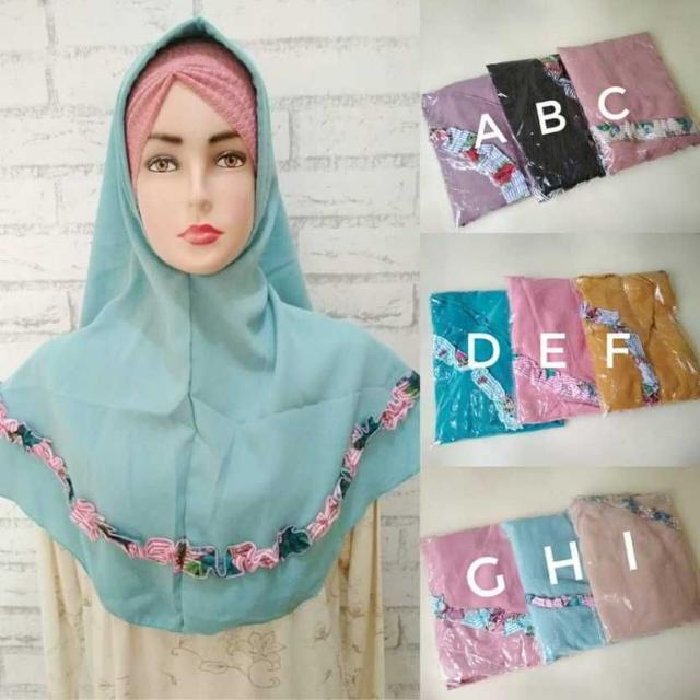 hijab lucu simple imut