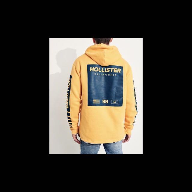 Hollister新款帽t